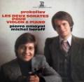 アモイヤル&ベロフのプロコフィエフ/ヴァイオリンソナタ第1&2番 仏ERATO 2918 LP レコード