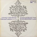 オイストラフ&ピシュナーのバッハ/ヴァイオリンとチェンバロのためのソナタ第4〜6番(テストプレス) 独ETERNA   2714 LP レコード