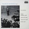 バックハウスのモーツァルト/ピアノソナタ第10&14番ほか 独DECCA  2644 LP レコード