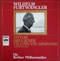 フルトヴェングラーのブルックナー/交響曲第7&8番 独ELECTROLA 2845 LP レコード