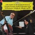 アルゲリッチ&ロストロポーヴィチのショパン/チェロソナタほか 独DGG   2710 LP レコード