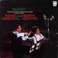 シェリング&ヘブラーのモーツァルト/ヴァイオリンソナタ第40&41番 蘭PHILIPS 2643 LP レコード