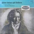 バックハウスのベートーヴェン/ピアノソナタ第29番「ハンマークラヴィーア」  独DECCA 2643 LP レコード