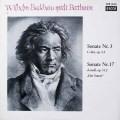 バックハウスのベートーヴェン/ピアノソナタ第3&17番「テンペスト」  独DECCA 2643 LP レコード