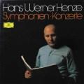 ヘンツェの自作自演/交響曲&協奏曲集 独DGG 2719 LP レコード