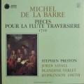 プレストンのバレ/フルート・トラヴェルソのための作品集 仏ASTREE    2528 LP レコード