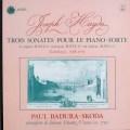 スコダのハイドン/ピアノソナタ第38,47&44番 仏ASTREE    2528 LP レコード