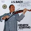 シェリングのバッハ/無伴奏ヴァイオリンソナタとパルティータ  独DACAPO 2722 LP レコード