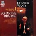 ヴァントのブラームス/交響曲第2番 独HM 2811 LP レコード