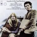 デュ・プレ&バレンボイムのエルガー/チェロ協奏曲ほか 蘭CBS 2813 LP レコード