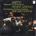 シェリング&ハイティンクのバルトーク/ヴァイオリン協奏曲第2番ほか 蘭PHILIPS 2813 LP レコード