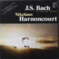 アーノンクールのバッハ/無伴奏チェロ組曲(全曲) 仏HM 2817 LP レコード