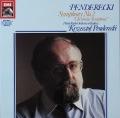 ペンデレツキのペンデレツキ/交響曲第2番 独EMI 2819 LP レコード