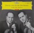 オイストラフ親子らのバッハ/2つのヴァイオリンのための協奏曲ほか 独DGG 2819 LP レコード