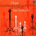 グリュミオー・トリオのモーツァルト/6つの前奏曲とフーガ 蘭PHILIPS 2727 LP レコード
