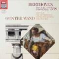 ヴァントのベートーヴェン/交響曲第5&8番 独EMI 2604 LP レコード