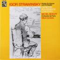 ベロフ&小澤のストラヴィンスキー/ピアノと管弦楽のためのカプリッチョほか  独EMI 2726 LP レコード