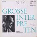 コンヴィチニーのレーガー/ヒラーの主題による変奏曲とフーガ 独ETERNA  2624 LP レコード