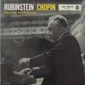 ルービンシュタインのショパン/マズルカ&ポロネーズ集  独RCA  2625 LP レコード