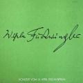 フルトヴェングラーのベートーヴェン/交響曲第7&8番ほか 独WF協会 2850 LP レコード