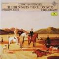 フルニエ&ケンプのベートーヴェン/チェロソナタ集  独DGG  2623 LP レコード