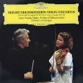 【直筆サイン入り】 ムター&カラヤンのモーツァルト/ヴァイオリン協奏曲第3&5番 独DGG 2850 LP レコード