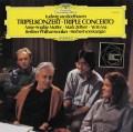 ゼルツァー、ヨーヨー・マ、ムター&カラヤンのベートーヴェン/三重協奏曲 独DGG 2850 LP レコード