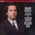 ムーティのブラームス/交響曲第4番&悲劇的序曲  蘭PHILIPS  2850 LP レコード