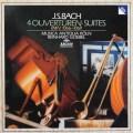 ムジカ・アンティクヮ・ケルンのバッハ/管弦楽組曲第1〜4番 独ARCHIV 2850 LP レコード