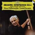 バーンスタインのブラームス/交響曲第4番 独DGG 2902 LP レコード