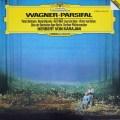 カラヤンのワーグナー/「パルジファル」抜粋 独DGG 2902 LP レコード