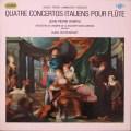 ランパル&リステンパルト/イタリアの4つのフルート協奏曲集  仏ERATO  2629 LP レコード