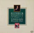 ムーティのベートーヴェン/交響曲第6番「田園」 独EMI 2738 LP レコード