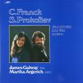 ゴールウェイ&アルゲリッチのフランク&プロコフィエフ/ソナタ集 仏RCA 2731 LP レコード