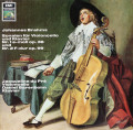 デュ・プレ&バレンボイムのブラームス/チェロソナタ 独EMI 2731 LP レコード