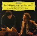 ポリーニ&アバドのバルトーク/ピアノ協奏曲第1&2番 独DGG 2735 LP レコード