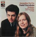 デュ・プレ/バレンボイムのブラームス/チェロソナタ第1&2番 仏EMI(VSM) 2746 LP レコード