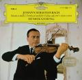 シェリングのバッハ/無伴奏ヴァイオリン・ソナタ&パルティータ第2番 独DGG 2745 LP レコード