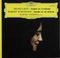 アルゲリッチのリスト&シューマン/ピアノソナタ集  仏DGG 2745 LP レコード
