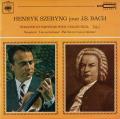 シェリングのバッハ/無伴奏ヴァイオリン・ソナタ&パルティータ全曲(3枚セット) 仏CBS 2745 LP レコード
