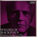 バックハウスのベートーヴェン/ピアノソナタ第1、5、6&7番 英DECCA 2741 LP レコード