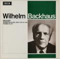 バックハウスのモーツァルト/ピアノソナタ第12番、第10番ほか 英DECCA 2741 LP レコード