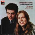 デュ・プレ&バレンボイムのブラームス/チェロソナタ オリジナル盤 英EMI 2741 LP レコード