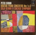P.ゼルキン&小澤のバルトーク/ピアノ協奏曲第1&3番 仏RCA 2741 LP レコード