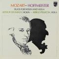 グリュミオー&ペリチアのモーツァルト&ホフマイスター/二重奏曲 蘭PHILIPS 2744 LP レコード