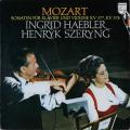 ヘブラー&シェリングのモーツァルト/ヴァイオリンソナタ第33&34番 蘭PHILIPS 2744 LP レコード