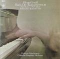 グールド&ゴルシュマンのバッハ/ピアノ協奏曲第2、4番&イタリア協奏曲 独CBS 2744 LP レコード