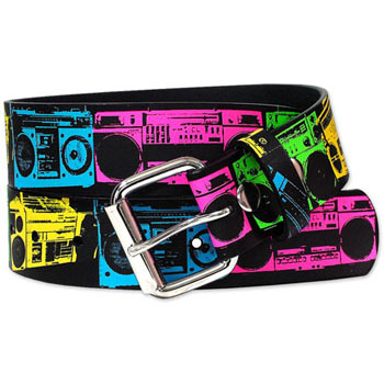 【IMPORT LA】NEON BOOM BOXES BELT ベルト
