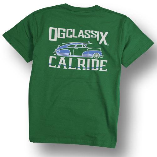 【OG CLASSIX/オージークラシックス】【CALRIDE/キャルライド】TOWN RIDE TEE【シボレー】
