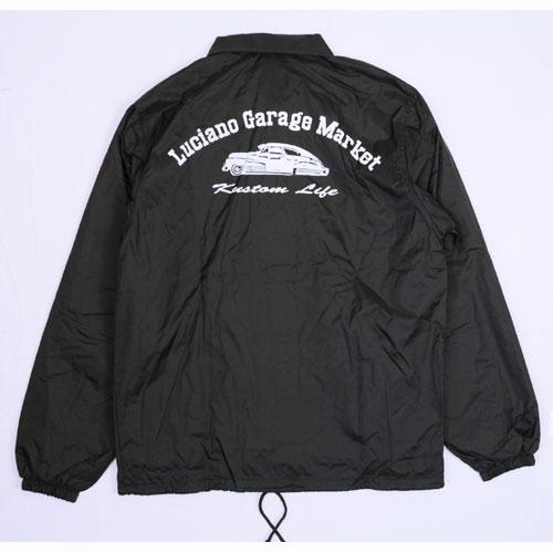 【Luciano Garage Market/ルチアーノガレージマーケット】THE BOMB COACH JACKET【コーチジャケット】【フリートライン】【ボム】